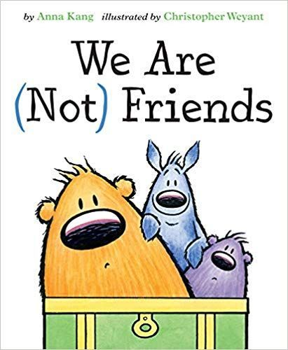 We Are Not Friends book
