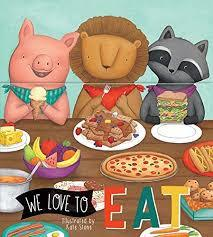 We Love to Eat book