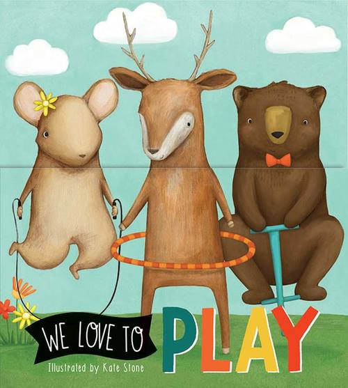 We Love to Play book