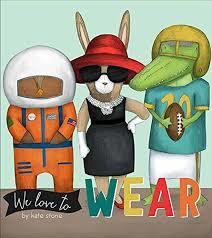 We Love to Wear book