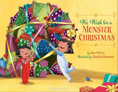 We Wish for a Monster Christmas book