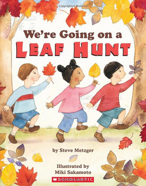 We're Going on a Leaf Hunt book