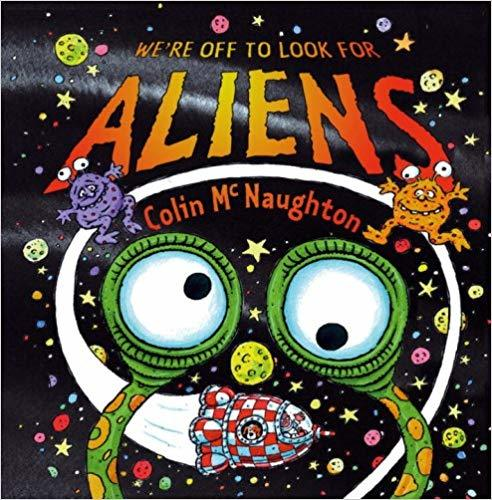 We're Off to Look for Aliens book