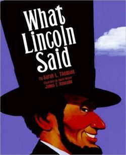 What Lincoln Said Book