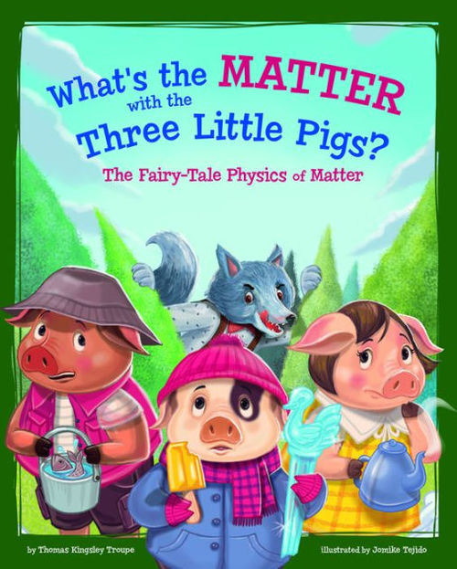 What's the Matter with the Three Little Pigs? book