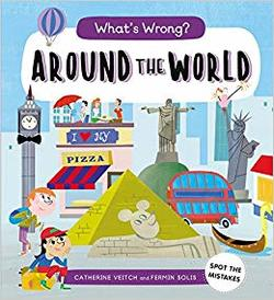 What's Wrong? Around the World book
