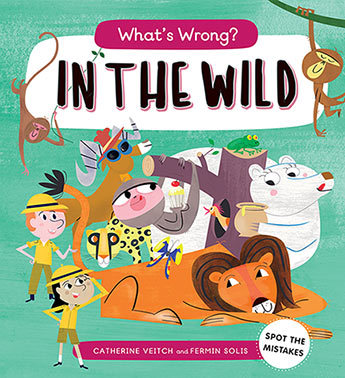 What's Wrong? In the Wild Book