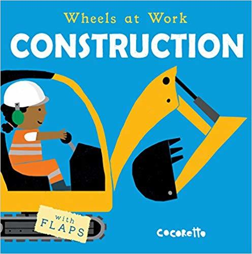 Wheels at Work: Construction book