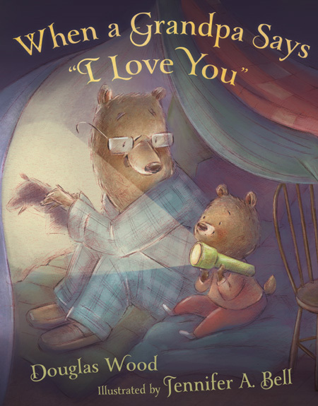 "When a Grandpa Says ""I Love You"" book"
