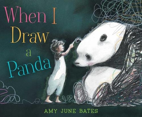 When I Draw a Panda book