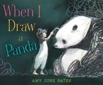 When I Draw a Panda book