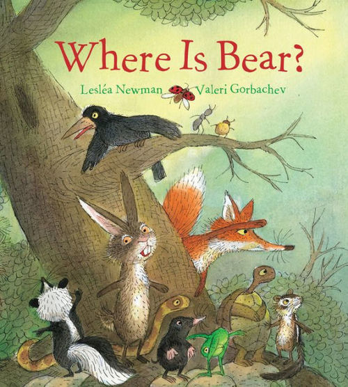Where Is Bear? book