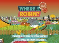Where Is Robin? USA book