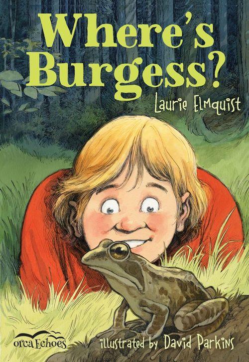 Where's Burgess? book