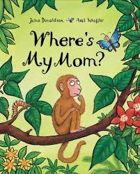 Where's My Mom? Book