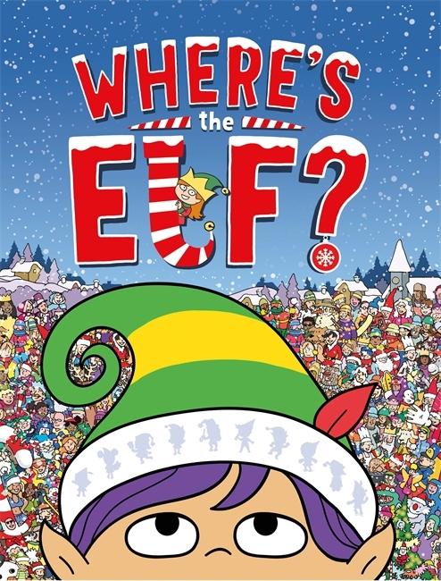 Where's the Elf? book