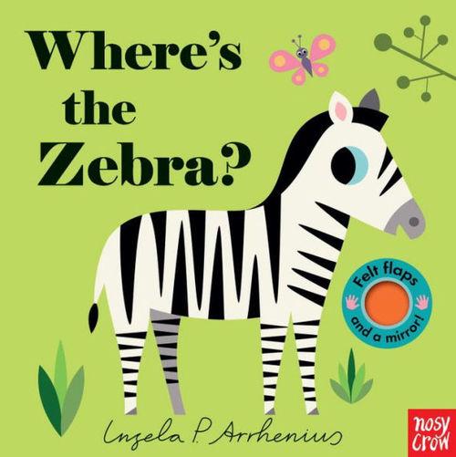 Where's the Zebra? book