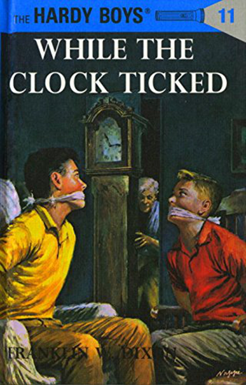 While the Clock Ticked book