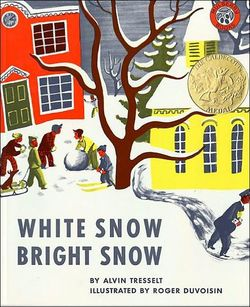 White Snow, Bright Snow book