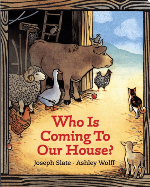 Who Is Coming to Our House? book