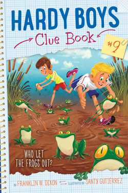 Who Let The Frogs Out? book