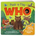 Who: Peek-A-Flap book