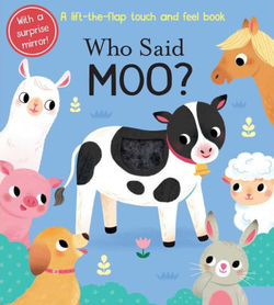 Who Said Moo? book