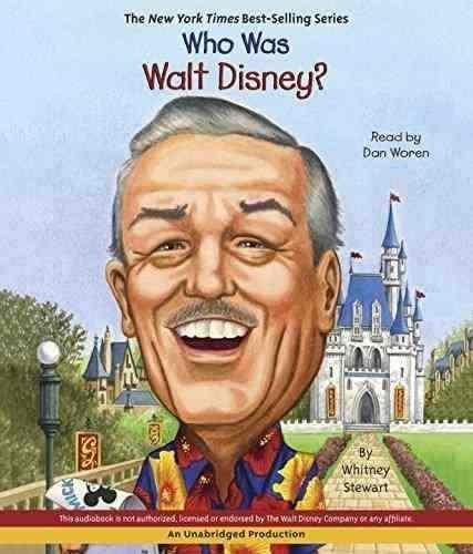 Who Was Walt Disney? book