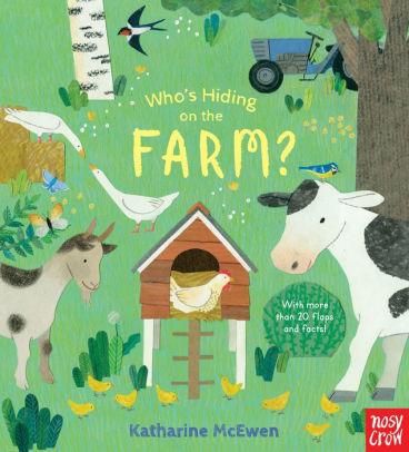 Who's Hiding on the Farm? book