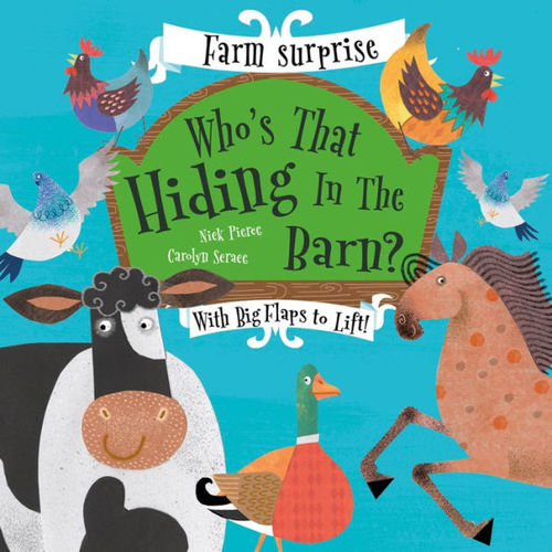 Who's That Hiding in the Barn? book