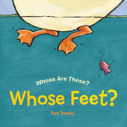 Whose Feet? book