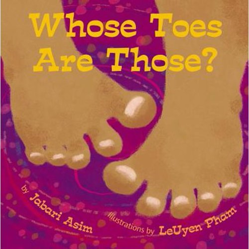 Whose Toes are Those? book