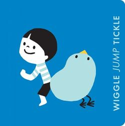 Wiggle Jump Tickle: A Little Book of Actions book