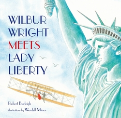 Wilbur Wright Meets Lady Liberty book