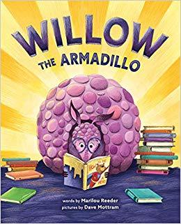 Willow the Armadillo book