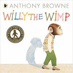 Willy the Wimp (Willy the Chimp) book