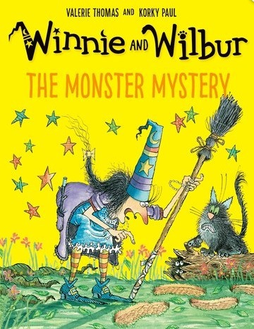 Winnie and Wilbur: The Monster Mystery book