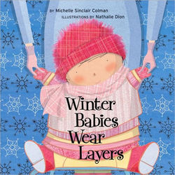Winter Babies Wear Layers book