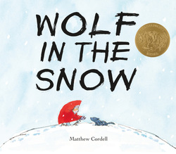 Wolf in the Snow book