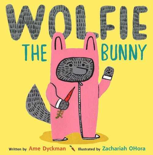 Wolfie the Bunny book