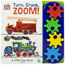 World of Eric Carle: Turn, Crank, Zoom!: A Stem Gear Book book