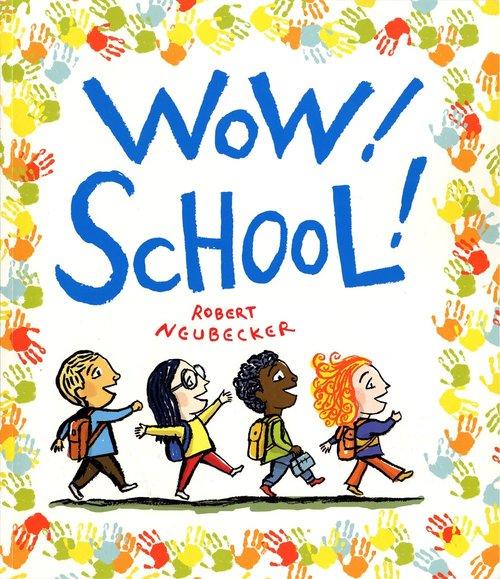 Wow! School! book