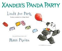 Xander's Panda Party book