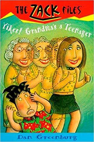 Yikes! Grandma's a Teenager book