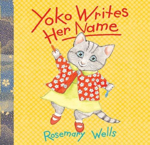 Yoko Writes Her Name book