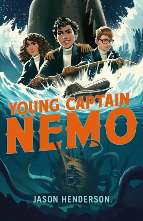 Young Captain Nemo book