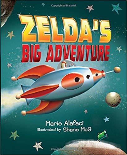 Zelda's Big Adventure book