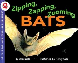 Zipping, Zapping, Zooming Bats book