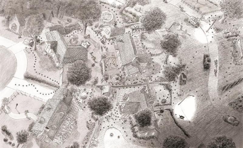 Fuddles' neighborhood