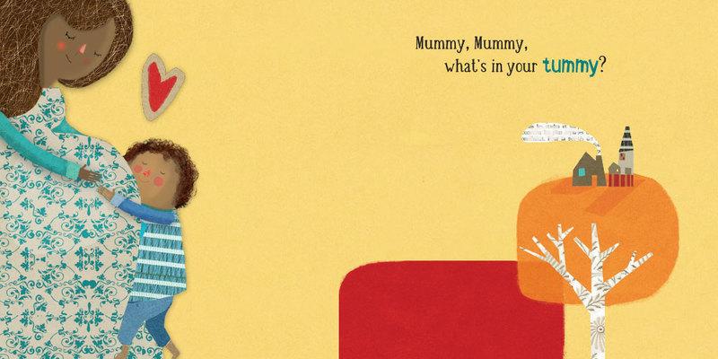 Mummy, mummy, what's in your tummy?